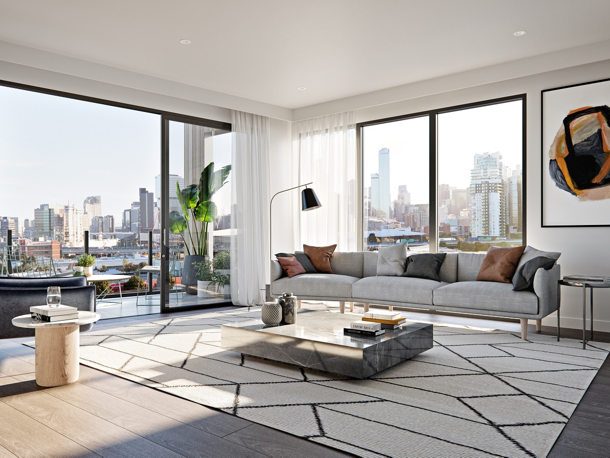 South Melbourne Beauty with City Views.